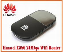 unlocked Huawei E586 3G wireless Router HSDPA Mobile WIFI router free shipping