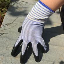 6 Pairs pack Gardening Gloves Work Gloves  Comfort Flex Coated  Breathable Nylon Shell  Nitrile Coating  Women Medium Size