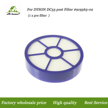 High Quality Post-motor Hepa Filter Filters Designed to Fit for Dyson DC33 Multi-Floor Animal Replacement Part 921616-01