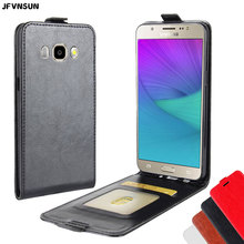 Buy Samsung J5, 6 Case Vertical Wallet Leather Flip Case SAMSUNG Galaxy J5 2016 J510 Cover NEW Card Slot Magnetic Phone Bag for $4.11 in AliExpress store
