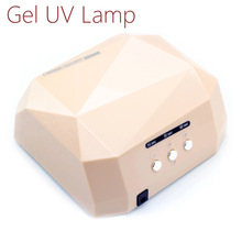 36W UV Lamp Nail Dryer UV LED Lamp for Nails Gel Dryer Nail Lamp Diamond Shape Curing for UV Gel Polish Nail Art Tools-1006