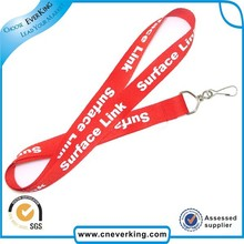 120pcs/lot new design multi colors with customized printing logo polyester tubular lanyard free shipping(China)