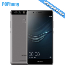 "International Firmware Huawei P9 5.2"" Fingerprint Mobile Phone 12MP*2 Hisilicon Kirin 955 Octa Core 3GB RAM 32GB ROM"