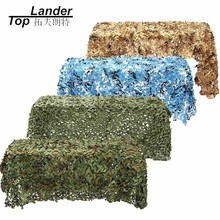 Military Camouflage Net Hunting Netting Military Nets Car Net Cover Tent Hunting Accessories Quick Dry Army Camouflage Mesh(China)