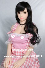 100cm Japanese anime full silicone mini sex doll,Realistic Lifelike full body solid silicone sex love doll Metal skeleton inside(China)