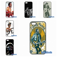 For Apple iPhone 4 4S 5 5S 5C SE 6 6S 7 Plus 4.7 5.5 iPod Touch 4 5 6 Chuck Berry Classic Rock Best Case Cover