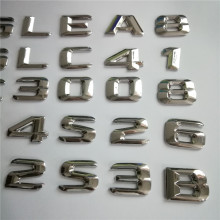 For Mercedes Benz W124 W211 E-CLASS E220 E420 E430 Trunk Rear Emblem Badge Chrome Metal Letters