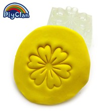 Plant modeling Acrylic DIY sunflower resin chapte Sophora japonica leaves handmade Resin soap stamp chapter mini diy patterns
