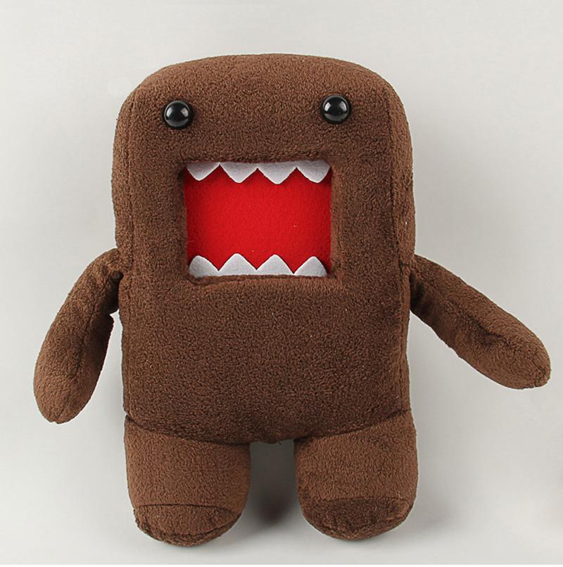 18cm 30cm 40cm Domokun Funny Domo-kun Plush Doll Children Novelty Creative Gift Kawaii Domo Kun Stuffed Toys for Kids (14)