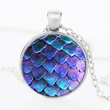 Wholesale Pendant Necklace Large Egg Necklace Glass Dome Game Pendant Game Of Thrones Dragon Egg Dragon necklace Jewelry HZ1(China)
