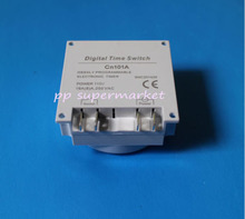 FREE SHIPPING 5PCS DC 12V 16A LCD Digital Power Programmable Timer Switch Time Relay(China)