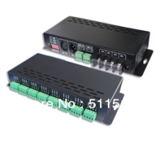 Original LT-880 ,24 CHANEL  DMX  PWM LED  decoder,3A*24Chanels,Dc5-24v , DIMMABLE