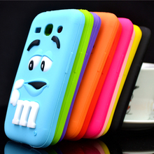 For Samsung Galaxy Star Advance G350E Case M&M'S Chocolate Candy Silicone Rubber Cases Covers Phone Case