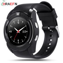 Smart Watch V8 bluetooth SmartWatch hombre phone Support SIM TF Card SMS camera For IOS Apple iphoneAndroid samsung xiaomi sony