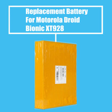10Pcs/Pack 1735mah Replacement Battery for Motorola Droid Bionic MB865 ATTRIX2 ME865 XT928 XT550 XT875 High Quality