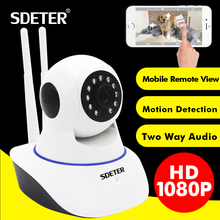 SDETER 1080P 2MP Wireless WIFI IP Camera Surveillance Security Camera Network Baby Monitor Two Way Audio Video Recording 720P Camera(China)