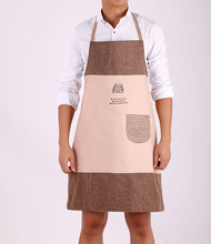 Fashion Plain Apron with Front Pocket for Chefs Butchers Kitchen Cooking Craft Home Cleaning Tool Accessories for women and men
