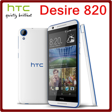 820 Original Unlocked HTC Desire 820 13.0MP 2600mAh 5.5Inch 16GB ROM 2GB RAM Touchscreen Refurbished Mobile Phone Free Shipping