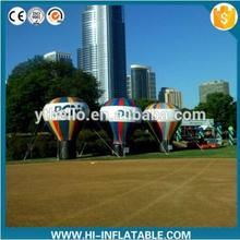 4m Giant inflatable ground balloon, Outdoor decoration Inflatable advertising cold air big balloon