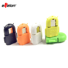 Effelon Micro usb to USB Android robot shape for OTG adapter for smartphone,Micro OTG cable,Micro OTG adapter