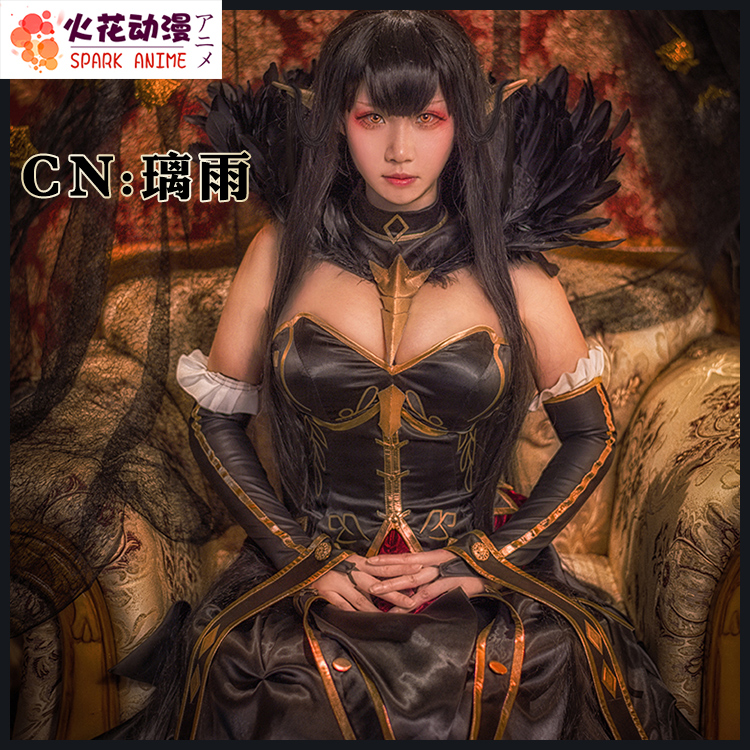 fate apocrypha FA Semiramis Sammu-ramat Poison killed Empress female dress cosplay costume cos dress Christmas gloves socks