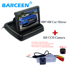 Car Rear View Camera+ Monitor Car Mirror Monitor For AveoTrailblazer 2012 Cruze h/b wagon 2012 Opel Mokka 2012 SRX CTS