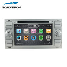 Silver Color 7 Inch DVD GPS Navigation Radio Stereo for Ford Transit / Old Focus / Old Mondeo / S-max Free 8G card with Map