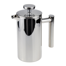 350ml Stainless Steel Double Wall Insulated Coffee Tea Maker French Press Percolators With Filter(China)