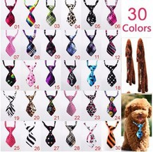 50pc/lot Factory Sale New Colorful Handmade Adjustable Pet Dog Ties Pet Bow Ties Cat Neck ties Dog Grooming Supplies PL02