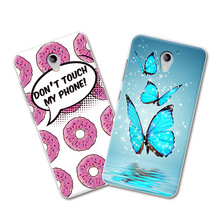 ZTE A510 Grid Cartoon Painted Phone Cases ZTE BA510 Blade A510 510 5.0 inch Fundas Cover ZTE Blade A510+Free Gift