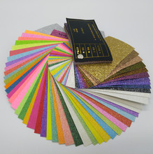 ONE TO FOUR New Glitter Paper Sample Leaflet(China)