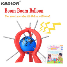 Boom Boom Balloon Poking Game Crazy Party Board Games Family Fun Toys for Kids Christmas Gift(China)