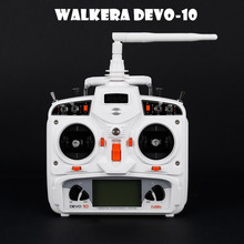 Buy Walkera White DEVO 10 2.4G Transmitter 10CH Receiver Telemetry RC Transmitter RC Model Airplane Multicopter for $126.69 in AliExpress store
