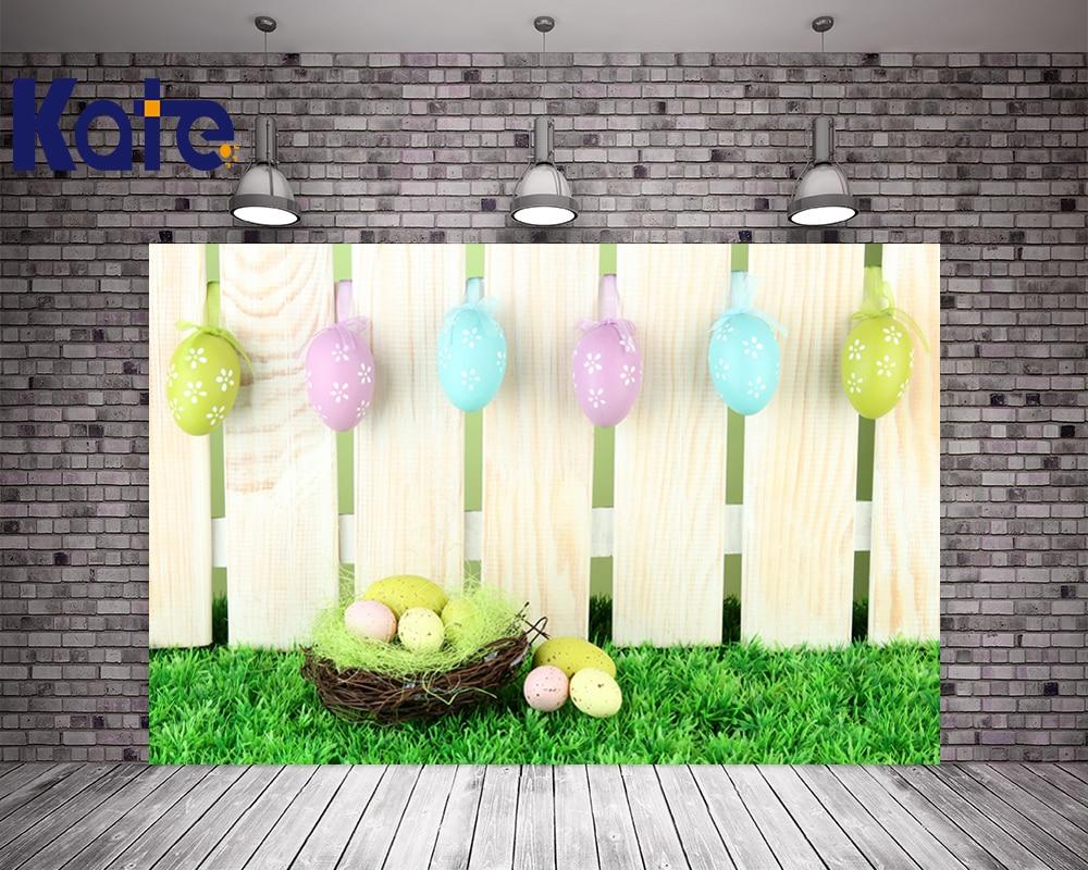 200Cm*150Cm Easter Photography Backdrops Wooden Nest Egg Backdrop Easter Day Zj<br>