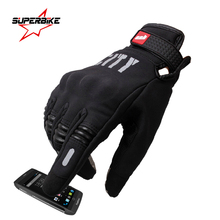 Motorcycle Gloves Summer Touch Screen Cycling Racing Glove Full Finger Motorbike Luvas Sports Protect Guantes de la motocicleta