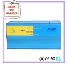 Pure Sine Wave 3000W Power Inverter Converter DC 24V to AC 110V or 220V  inverter 12 220