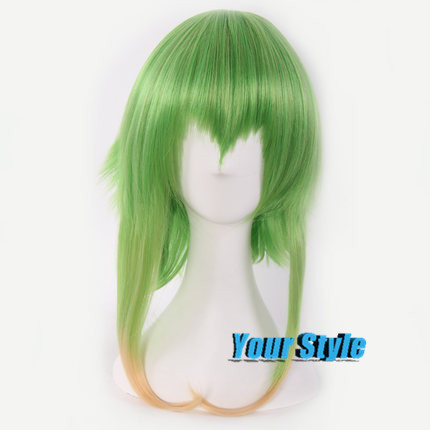 Japanese Vocaloid Gumi Wig Cosplay Ombre Green To Pink Natural Cheap Hair Wig Peruca Cosplay Perruque Synthetic Women<br><br>Aliexpress