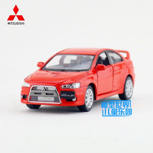 Free Shipping/1:36 Scale/2008 Mitsubishi Lancer Evolution X/Educational Model/Pull back Diecast Metal toy car/Collection/Gift