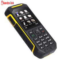 Alps X6 IP68 Waterproof Rugged Mobile Phone UHF Walkie Talkie Function 2500mah 2.4 Inch Dual SIM Card GSM with Torch