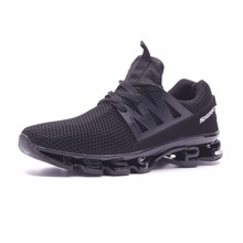 Joomra Men's Sport Running Shoes Training Breathable Mesh Hollow Comfort Sneakers Size 39-44 Zapatos Para Correr Male Shoes