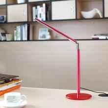 Simple Stylish Foldable 3.5W LED Desk Lamp Sensitive Touch Switch Office Night Stand Reading Light with EU / US Standard Adaptor
