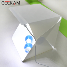 GEEKAM light box Mini Portable Folding Photography Photo Studio Softbox Lighting Kit Light box for iPhone Digital DSLR Camera