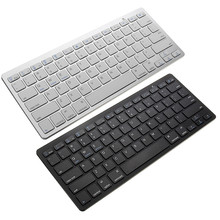 Ultra Thin Mini Wireless Keyboard Bluetooth 3.0 Gaming Keyboard Remote Control for Apple iPad/iPhone /MacBook /PC Computer(China)