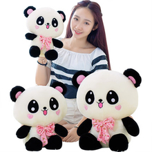 Cute Panda Bear Stuffed Toy Panda Bears Brinquedos Kawaii Stuff Birthday Cute Stuffed Plush Animals Bear Soft Toy 70C0606