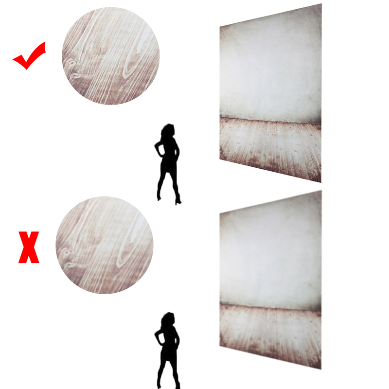 OOTDTY 8x12ft Photography Background for Baby Children Wood Photo Backdrop Vinyl Studio<br>