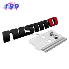 Car Styling 3D Auto Sticker Front Hood Grille Emblem for Nismo Logo for Nissan qashqai juke x-trail t31 t32 primera leaf 350-z