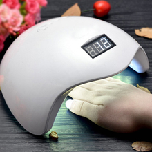 2017 New Nail Dryer 48W SUN5 Dual UV LED Nail Lamp with LCD display Gel Polish Curing Light Bottom  Nail Tools