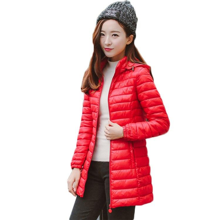 2017 womens fashion slim coat long  thin cotton padded jacket female autumn winter parka windbreaker hight qualityÎäåæäà è àêñåññóàðû<br><br>