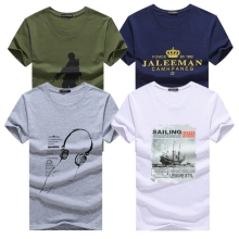 Buy KUYOMENS 4 Pcs T shirts Men New Arrival Men's T-Shirts Plus Size Fashion Summer Short Sleeve T Shirts Men Male Tee Shirts for $18.74 in AliExpress store