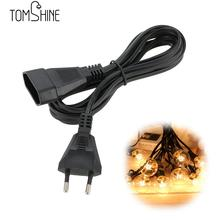 Tomshine 3M/9.8Ft  Water Resistance IP20 Extension Cable for G40 String Light LED Night Light String Cable for Indoor/Outdoor
